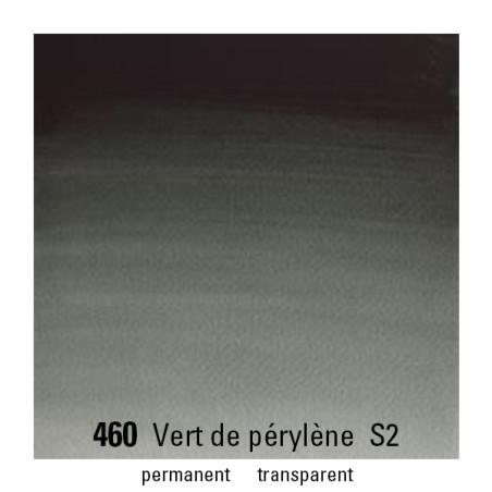 WINSOR&NEWTON AQUARELLE 1/2 GODET S2 460 VERT PERYLENE