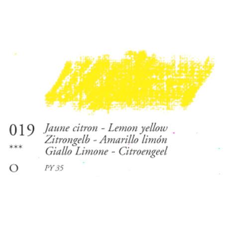 SEN PASTEL HUILE MOYEN 38ML 019 JAUNE CITRON