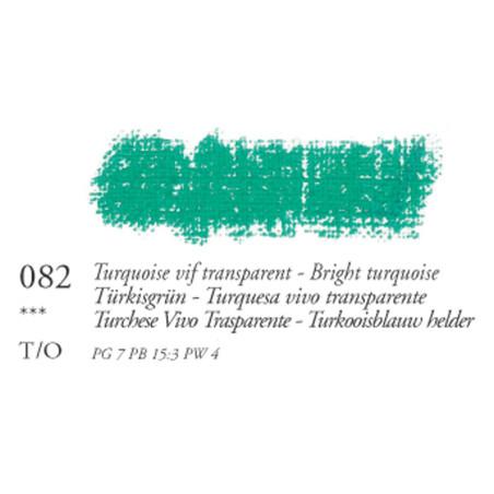 SEN PASTEL HUILE 38ML 82 TURQUOISE VIF TRANSPARENT