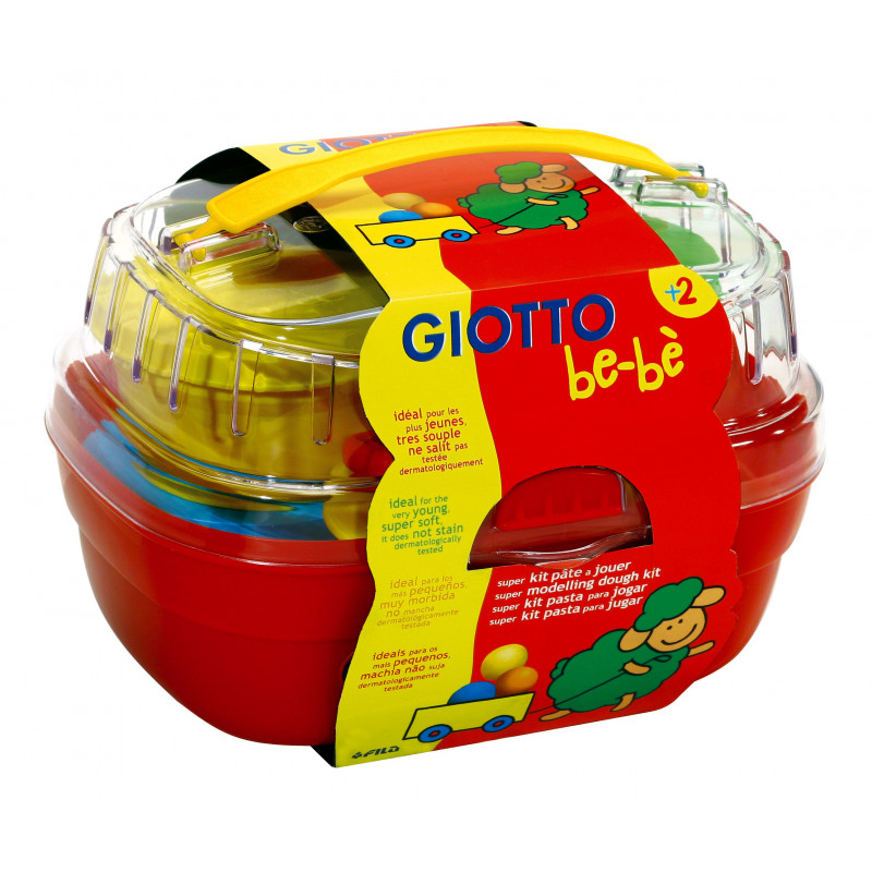 GIOTTO box super kit pâte à jouer