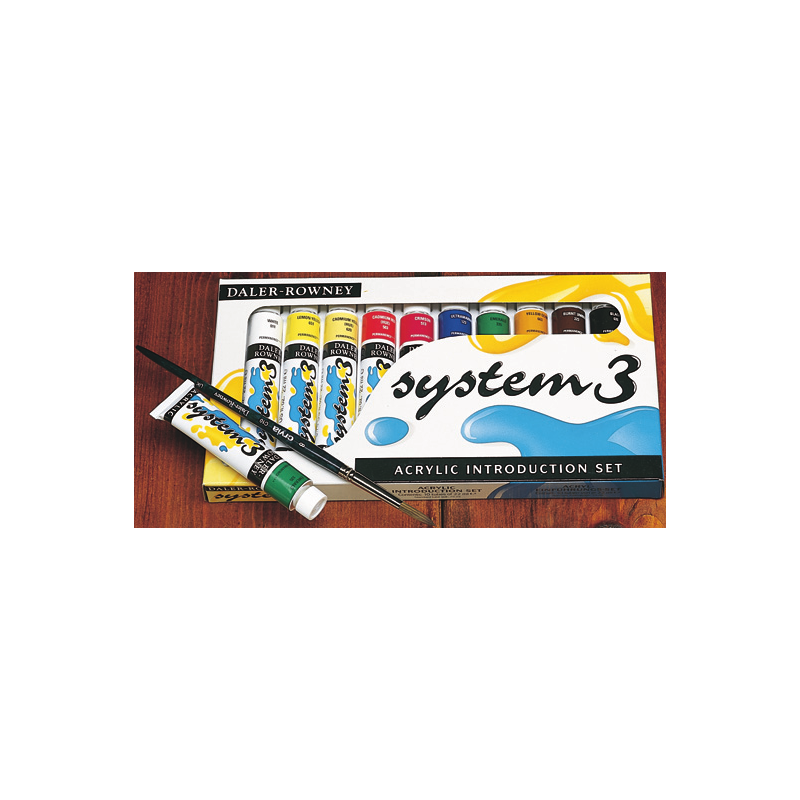 System 3 Original set 10 tubes assortiment