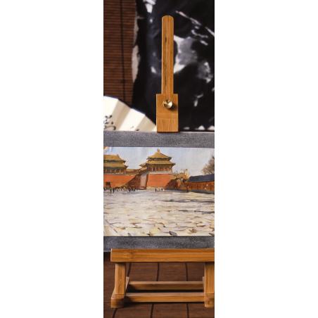 Coffret vide pour pastels en bambou