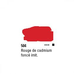 SYS3 ACRYL 150ML CAD RED DEEP HUE 504