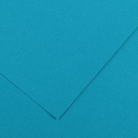 VIVALDI PAPIER 240G 50X65CM 21 BLEU PRIMAIRE
