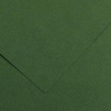 VIVALDI PAPIER 240G 50X65CM 31 VERT FORET