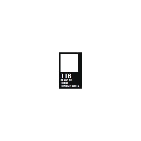 RAPHAEL ACRYLIQUE SATINEE 500ML 116 BLANC TITANE