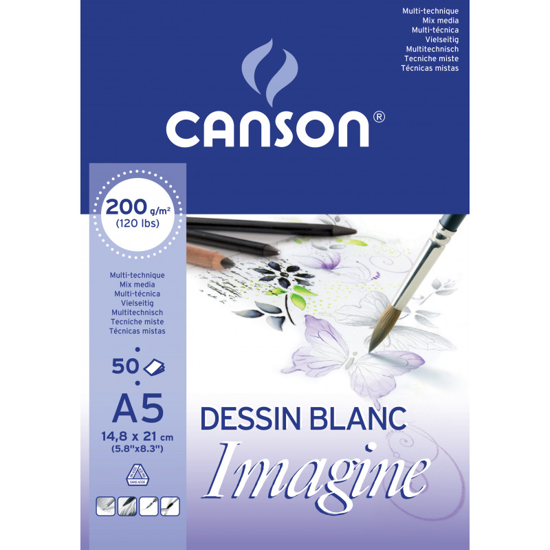 Bloc de papier Imagine 200 g/m²