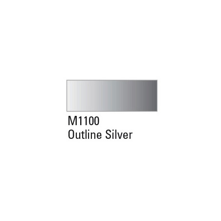 MONTANA GOLD 400ML M1100 OUTLINE SILVER
