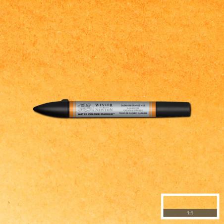 W&N WCM MARQUEUR AQUA 090  NUANCE DE CADMIUM ORANGE