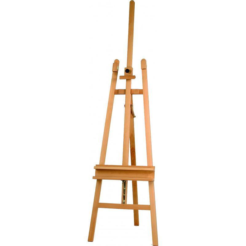 Chevalet de peinture d'atelier en bois — modèle n°137
