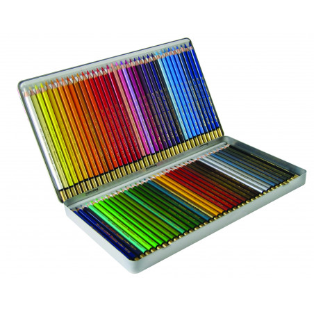 Coffret de crayons de couleur aquarellables Mondeluz Koh-i-Noor
