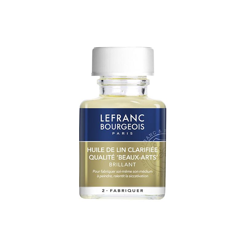 Huile de lin pour peinture à l'huile Lefranc & Bourgeois
