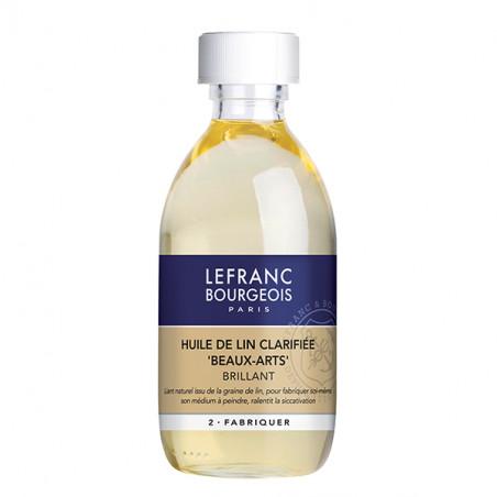 LEFRANC&BOURGEOIS HUILE LIN CLARIFIEE 250ML