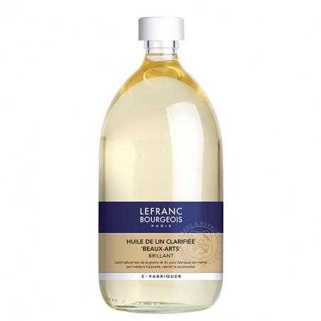 LEFRANC&BOURGEOIS HUILE LIN CLARIFIEE 1L