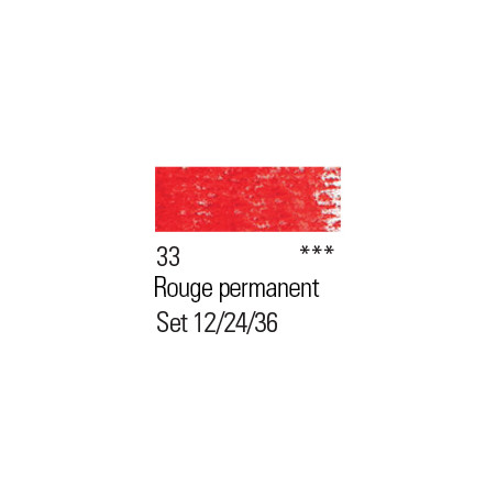 BOESNER PASTEL 33 ROUGE PERMANENT