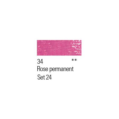 BOESNER PASTEL 34 ROSE PERMANENT