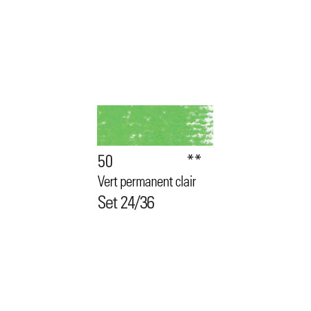 BOESNER PASTEL 50 VERT PERMANENT CLAIR