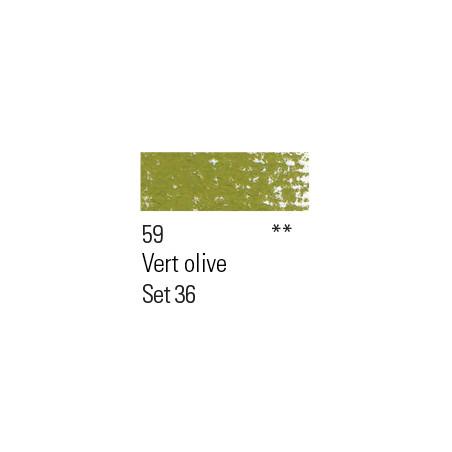 BOESNER PASTEL 59 VERT OLIVE CLAIR
