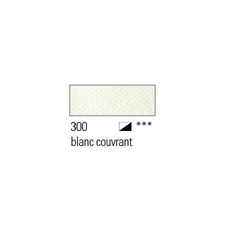 BOESNER AQUARELLE STUDIO 1/1GODETS 300 BLANC COUVRANT