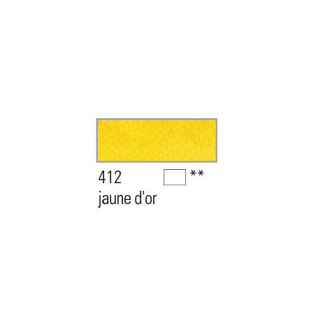 BOESNER AQUARELLE STUDIO 1/1GODETS 412 JAUNE OR