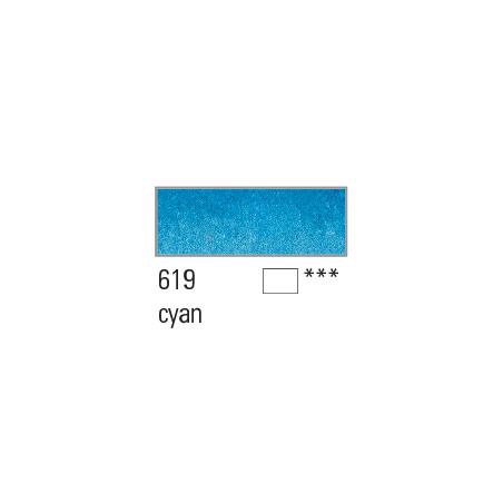 BOESNER AQUARELLE STUDIO 1/1GODETS 619 CYAN