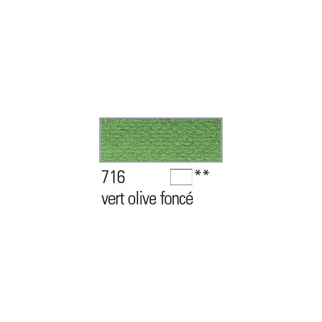 BOESNER AQUARELLE STUDIO 1/1GODETS 716 OLIVE FONCE