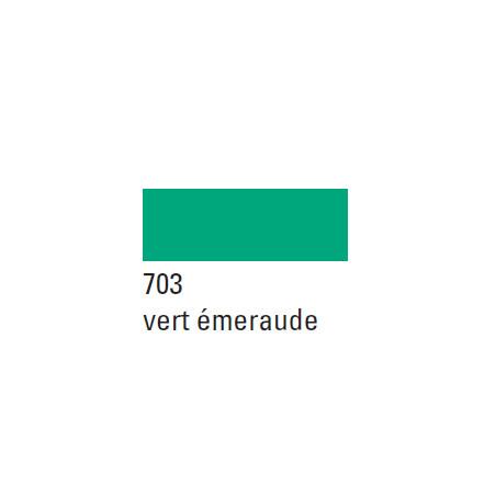 BOESNER GOUACHE STUDIO 500ML 703 VERT EMERAUDE