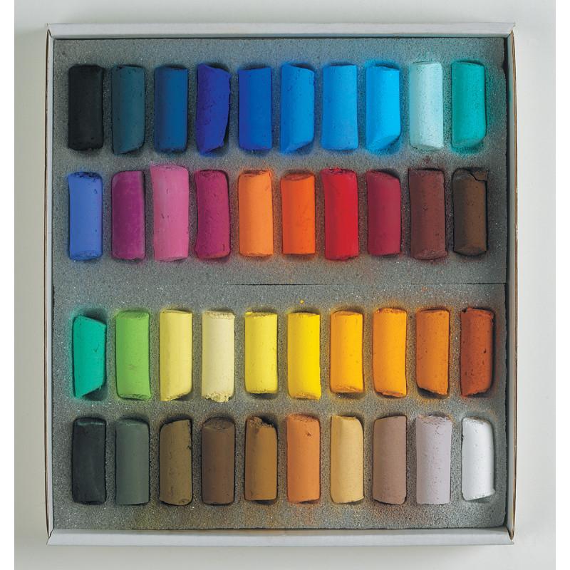 Coffrets pastels tendres à l'écu Sennelier
