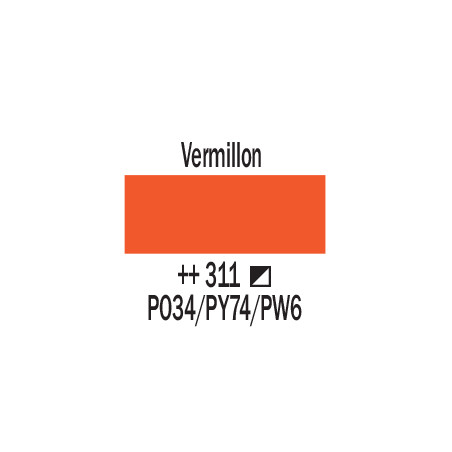 AMSTERDAM BOMBE 400ML VERMILLON