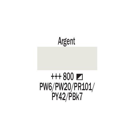 AMSTERDAM ACRYL BOMBE 400ML 800 ARGENT