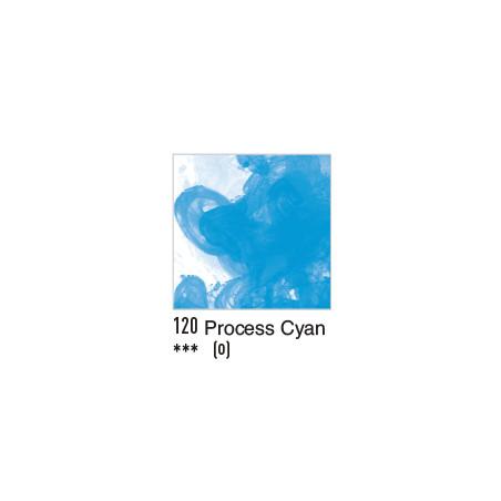 DALER ROWNEY ENCRE ACRYLIQUE  29ML 120 PROCESS CYAN