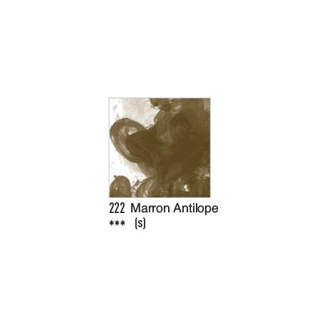 DALER ROWNEY ENCRE ACRYLIQUE  29ML 222 MARRON ANTILOPE