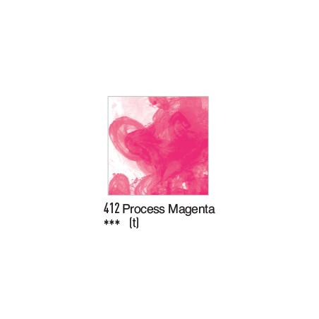DALER ROWNEY ENCRE ACRYLIQUE  29ML 412 PROCESS MAGENTA