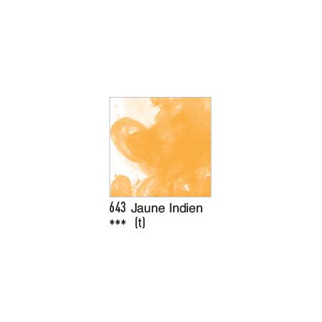 DALER ROWNEY ENCRE ACRYLIQUE  29ML 643 JAUNE INDIEN