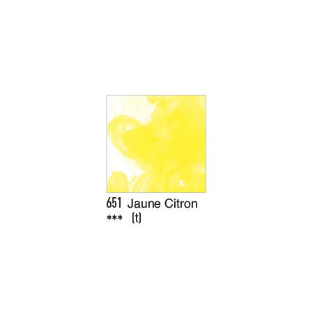 DALER ROWNEY ENCRE ACRYLIQUE  29ML 651 JAUNE CITRON