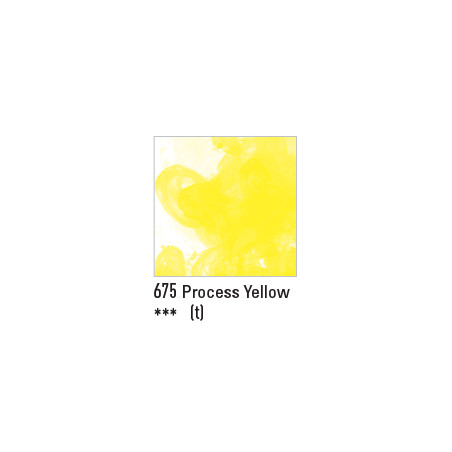 DALER ROWNEY ENCRE ACRYLIQUE  29ML 675 PROCESS YELLOW