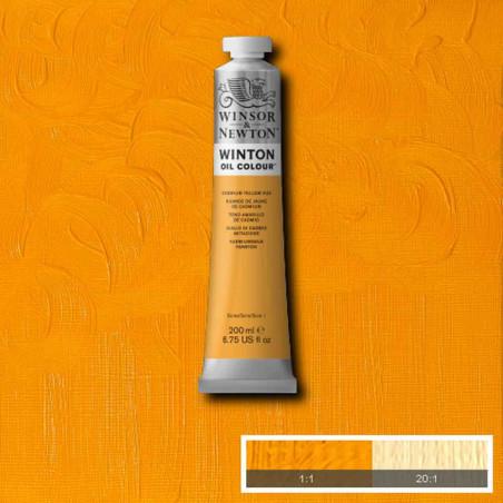 W&N PEINTURE HUILE WINTON 200ML 109 JAUNE DE CADMIUM