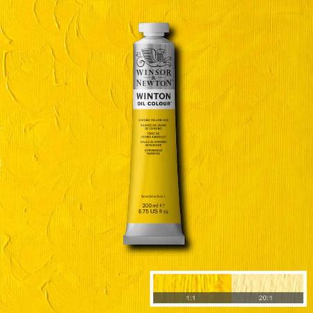 W&N PEINTURE HUILE WINTON 200ML 149 JAUNE DE CHROME