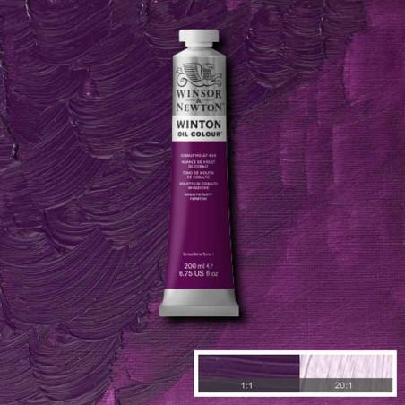 W&N PEINTURE HUILE WINTON 200ML 194 VIOLET DE COBALT