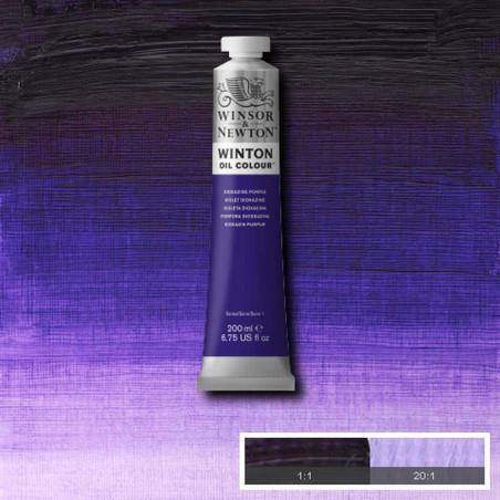 W&N PEINTURE HUILE WINTON 200ML 229 POURPRE DIOXAZINE