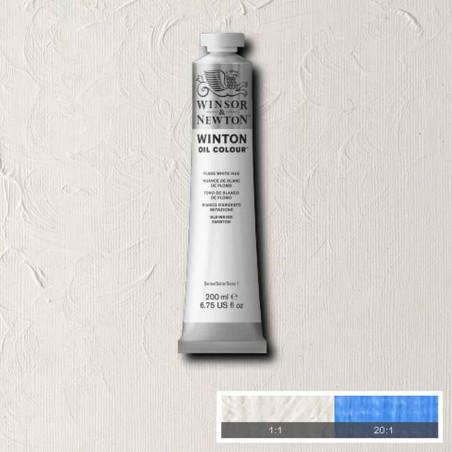 W&N PEINTURE HUILE WINTON 200ML 242 BLANC D'ARGENT