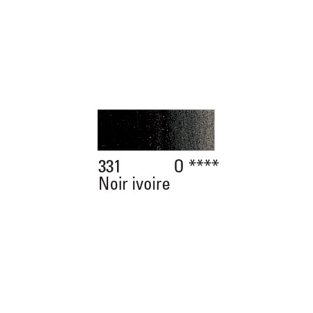 W&N PEINTURE HUILE WINTON 200ML 331 NOIR IVOIRE