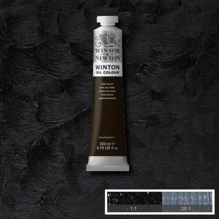 W&N PEINTURE HUILE WINTON 200ML 337 NOIR DE FUMEE