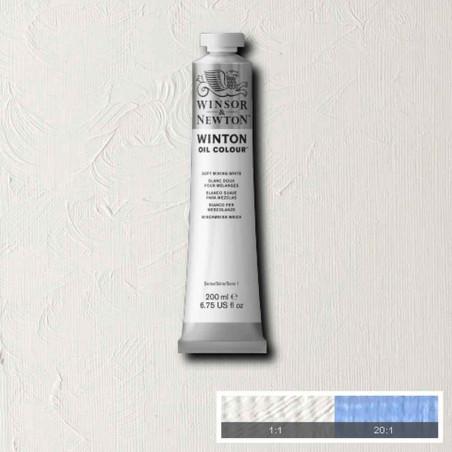 W&N PEINTURE HUILE WINTON 200ML 415 BLANC POUR MELANGE