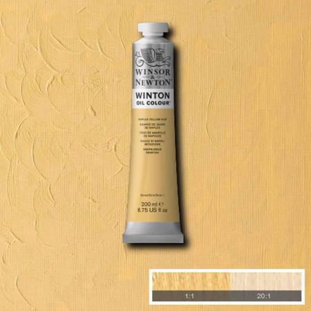 W&N PEINTURE HUILE WINTON 200ML 422 JAUNE DE NAPLES