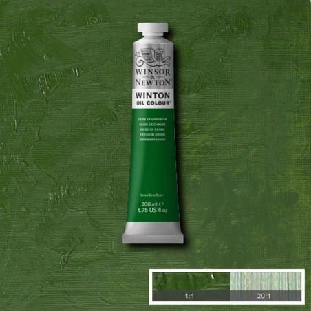 W&N PEINTURE HUILE WINTON 200ML 459 OXYDE DE CHROME