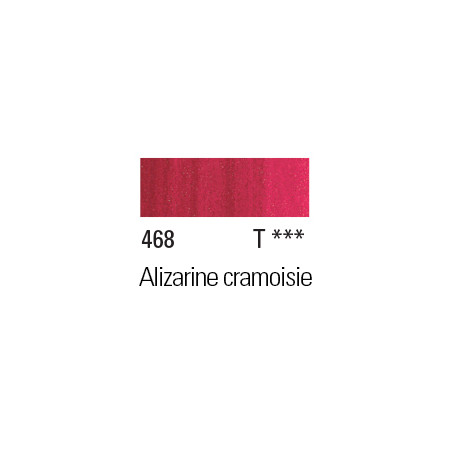 W&N PEINTURE HUILE WINTON 200ML 468 ALIZARINE CRAMOISIE PERMANENT