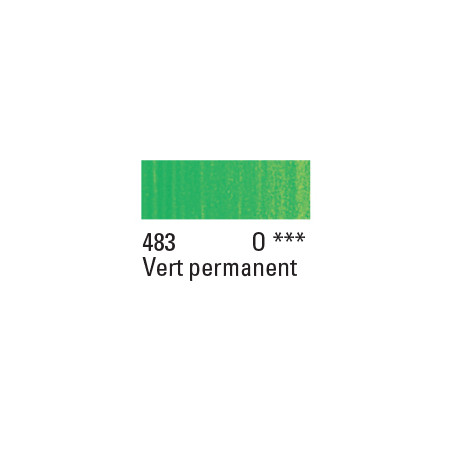 W&N PEINTURE HUILE WINTON 200ML 483 VERT CLAIR PERMANENT