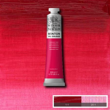 W&N PEINTURE HUILE WINTON 200ML 502 ROSE PERMANENT