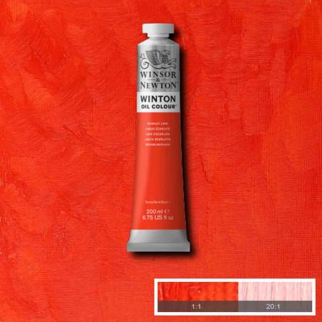W&N PEINTURE HUILE WINTON 200ML 603 LAQUE ECARLATE
